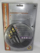 Monster High Res Video Cable Video 2 Component 2m 6.6 ft Male to Male - $16.92
