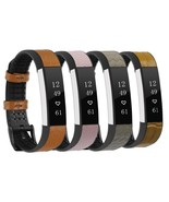 High Quality Genuine Leather Strap Replacement For Fitbit Alta Alta HR W... - $21.98