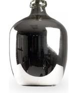 Vase Polished Nickel Glass FREE SHIPPING* - $469.00