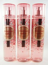 (3) Bath & Body Works Red Christmas Cookies Fragrance Mist Spray 8oz New - $45.57