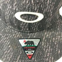 Oakley California High Snapback Adjustable Hat Cap Gray Pink - $11.98