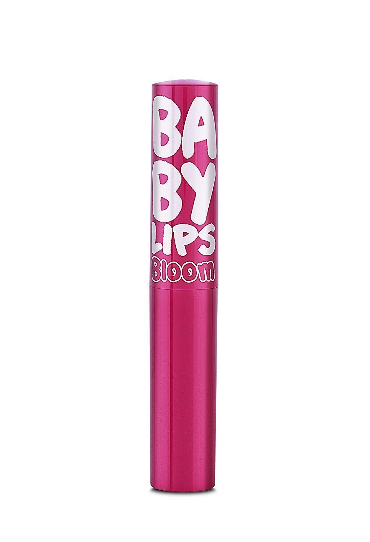 Maybelline Baby Lips Moisturizing Lip Balm, Pink Bloom, 1.7g