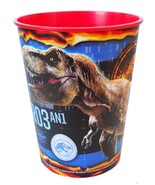 Jurassic World Stadium Keepsake Favor 16 oz Cup with American Flag 1 Cou... - $2.56