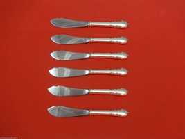 """Modern Victorian by Lunt Sterling Trout Knife Set 6pc. HHWS  Custom Made 7 1/2"""" - $366.80"""