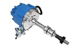 BBF Ford 351C 429 460 V8 Coil Hei Distributor 50,000 50k Volt w/ Blue Cap image 7