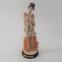 Marlo Collection by Artmark Figurine of Victorian Lady in Ruffled Dress image 2