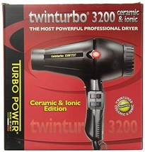 Twin Turbo 3200 Ceramic and Ionic Professional Hair Dryer - $140.53