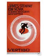 Vertigo Alfred Hitchcock James Stewart (1958) Vintage-Style 12x18 Movie ... - $11.88