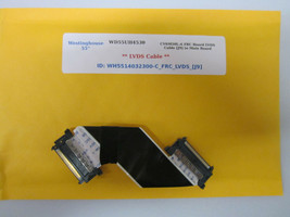"Westinghouse 55"" WD55UH4530 CV6M50L-A FRC Board LVDS Cable [J9] to Main ... - $14.95"