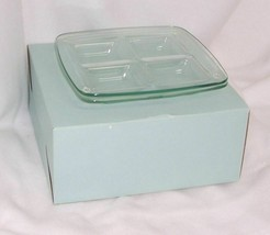 PartyLite Stratus Candle Trays 2 Pieces Rare Retired Hostess Bonus HB3306U - $21.73