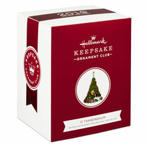 Hallmark Keepsake 2019 O Tannenbaum KOC Member Christmas Ornament New w Box - $30.83
