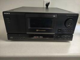 Sony CDP-CX153 Mega Storage 100 Disc CD Changer - No Remote - $99.99