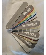 Sherwin Williams Paint Color Wheel Snap Swatches Samples Fan Deck Bookle... - $34.65