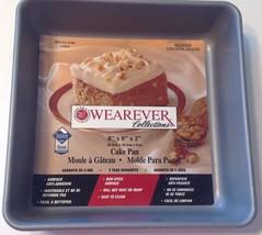"""WearEver Square Cake Pan 67680 Silvestone Non-Stick New 8""""x8""""x2"""" - $282,36 MXN"""