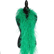 Brown 2ply Ostrich Feather Boa Scarf Prom Halloween Costumes Dance Decor