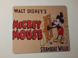 Steamboat Willie Mickey Mouse Walt Disney Mouse Pad - $12.00