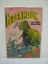 BLACKHAWK the time monsters #143 vg condition, dc comic book 1959 - $15.24