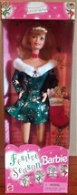 1997 Mattel Special Edition Festive Season Barbie Doll NIB - $20.79