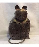 Metal Cat Tea Light Holder - $5.89