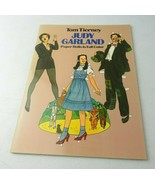 Vintage 1982 Paper Doll Book In Full Color Judy Garland By Tim Tierney - $15.00