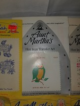 "Aunt Martha's Hot Iron Transfers OSCAR OWL CS-37 3-1/4""x4"" Embroidery Pa... - $4.99"