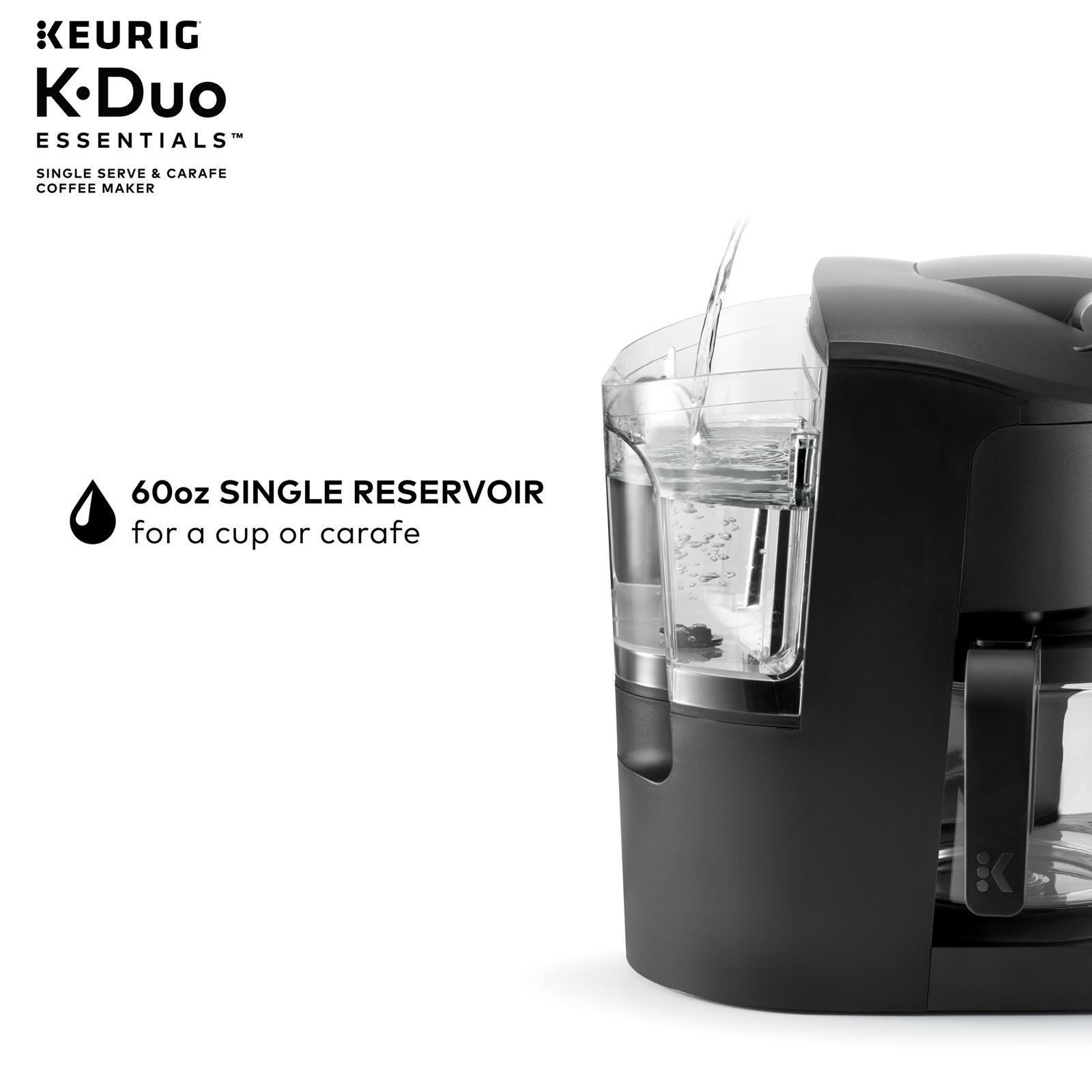 Keurig K-Duo Essentials Coffee Maker, with Single Serve K ...