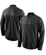KANSAS CITY CHIEFS NFL SALUTE TO SERVICE SIZE XL HYBRID JACKET 2016 BRAN... - $124.99
