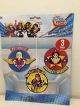 New 3 DC Super Hero Girls Birthday Party Hanging Honeycomb Decorations - $6.79
