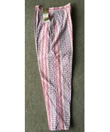 Vintage Womens Pants Truly Regal Ladies Capris Size 10 Woven Deadstock N... - $29.69