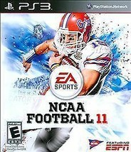 NCAA Football 11 (Sony PlayStation 3, 2010) TESTED - WORKS - $5.90