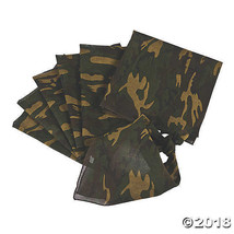 Green Woodland Camouflage Bandana 20 by 20 Inches - $2.85