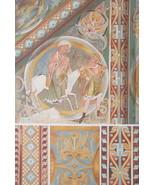 CHURCH PAINTINGS Virgin Mary Breastfeeding Christ etc - 1888 COLOR Litho... - $25.20