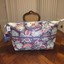 NWT Vera Bradley Lighten Up Expandable Travel Bag in Nomadic Floral - $65.09