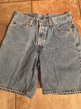 Men's Levis 550 Jean Shorts Sz 29 Inseam 8 Euc - $15.83