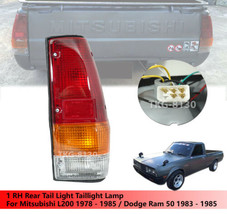 RH Tail Light TailLight LampFor Mitsubishi L200 1978-1985 / Doage Ram 50 - $41.66