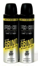 2 Axe 3.8 Oz On Your Grind Don't Sweat Smell Fresh 48h Dry Spray Antiper... - $15.99