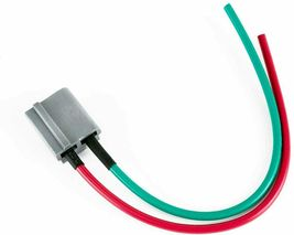 SBC Chevy 283 329 350 383 HEI Distributor Red Super Cap 8mm SPARK PLUG WIRES image 9