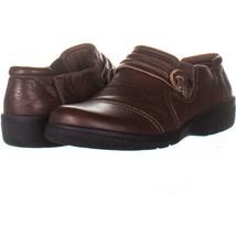 Clarks Cheyn Madi Round Toe Loafer Flats 243, Tan Tumbled , 8 N US / 39 EU - $32.63