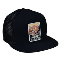 Grand Canyon National Park Trucker Hat by LET'S BE IRIE - Black Snapback - £16.01 GBP
