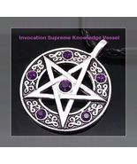 INVOCATION Talisman Celtic SUPREME KNOWLEDGE WHITE AMULET GENUINE Ritual... - $58.00