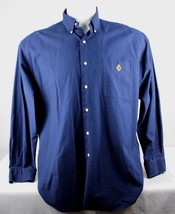 Lauren Ralph Lauren t shirt cotton long sleeve navy blue size L - $16.68