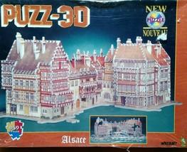 Wrebbit Puzz-3D Alsace 959 Piece Puzzle Factory Sealed NEW - $46.44