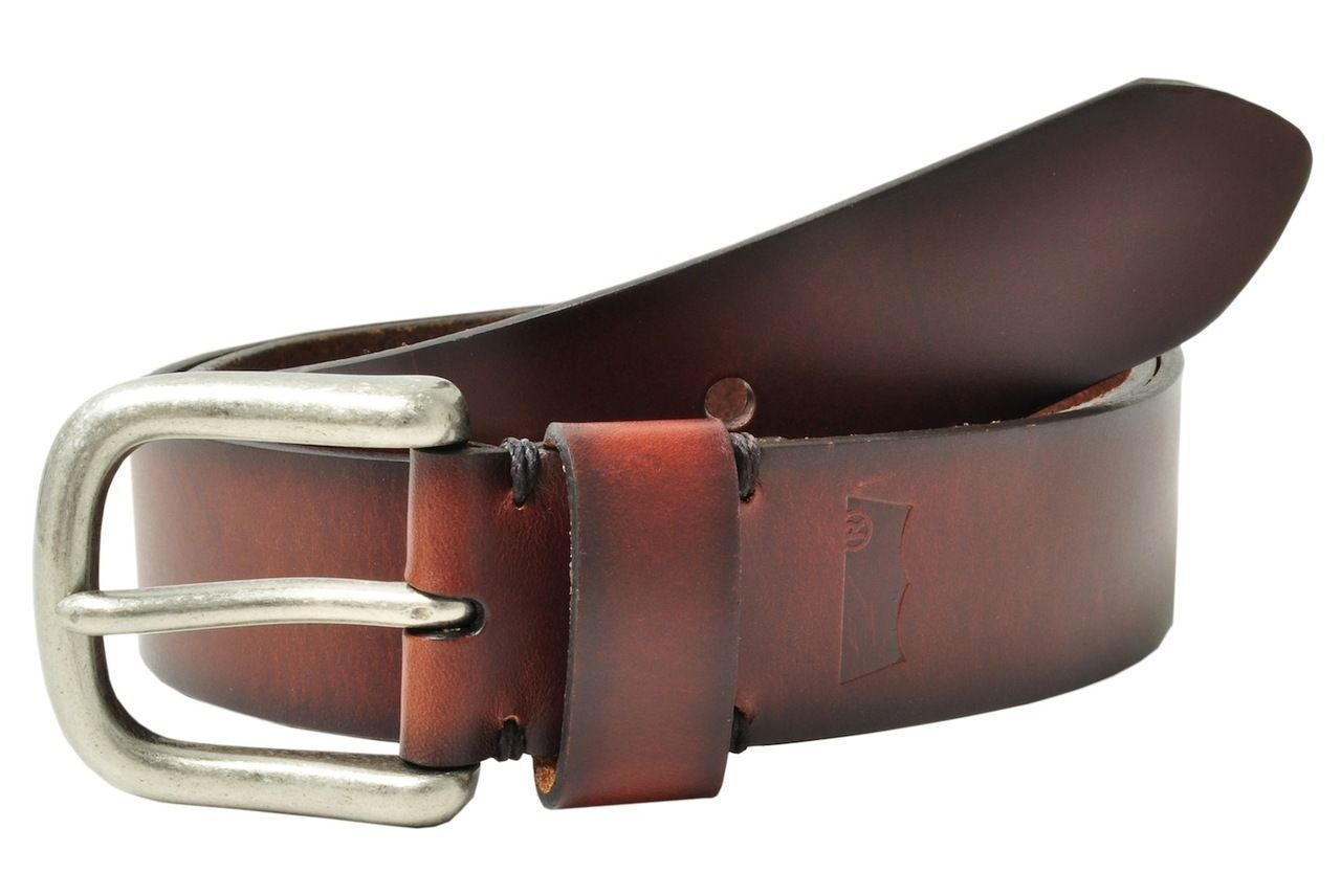 NEW LEVI MEN'S PREMIUM CLASSIC STYLISH GENUINE LEATHER BELT BROWN 11LV02PP