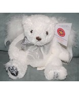Hard Rock Limited Edition Global Angels Teddy Bear Herrington Feather Wings NEW - $24.70