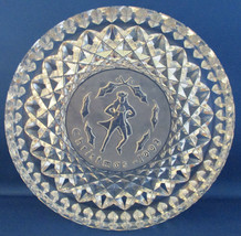 Waterford Crystal Round Christmas 1993 Collector Plate - $18.56