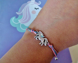 Unicorn bracelet Secret santa gift for girls Unicorn jewelry Unicorn gif... - $7.90