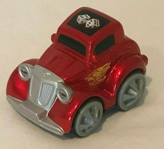 """Fisher Price Rev N Go Hot Rod Stunt Car 3"""" Vehicle Toy X5848 Red 2012 Ma... - $8.99"""