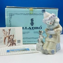 Lladro Nao figurine clown circus carnival Spain box 1985 C13F accordion ... - $173.25