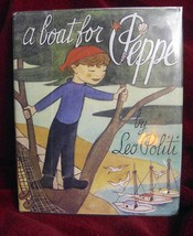 A BOAT FOR PEPPE by Leo Politi (1950, Hardback) SIGNED - $80.16