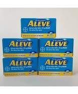 Aleve Pain Reliever & Fever Reducer Caplets Naproxen Sodium 200mg NSAID ... - $31.92